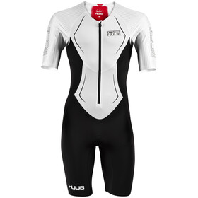 HUUB DS Long Course Trisuit Uomo, white/red